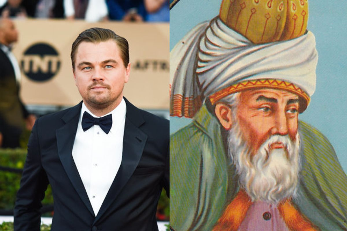Outcry Over Leonardo DiCaprio Being Eyed To Play 13th Century Muslim Poet Rumi In New Film