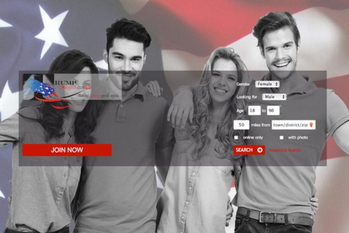 If Trump Supporter Peen Is Your Thing, Here's The Dating Site For You (And Please Seek Help)