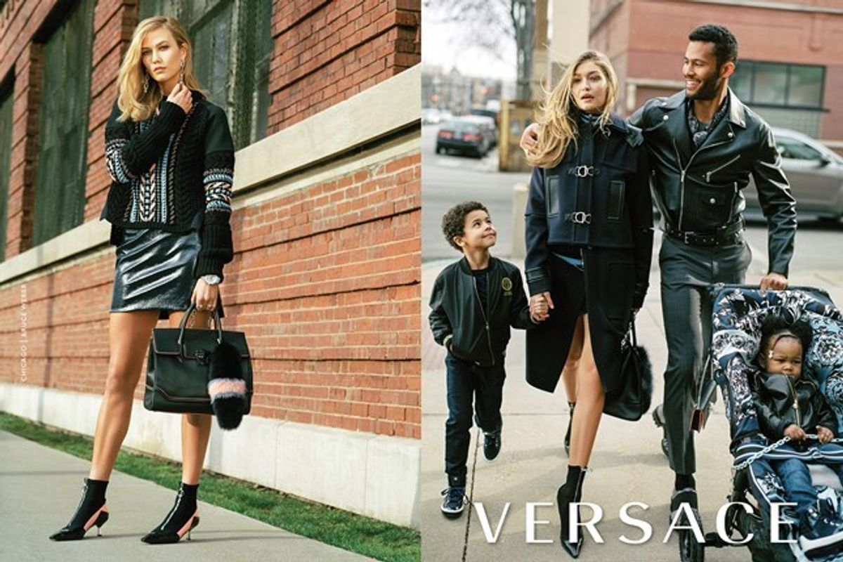 Donatella Versace Defends Controversial Power Mom Campaign