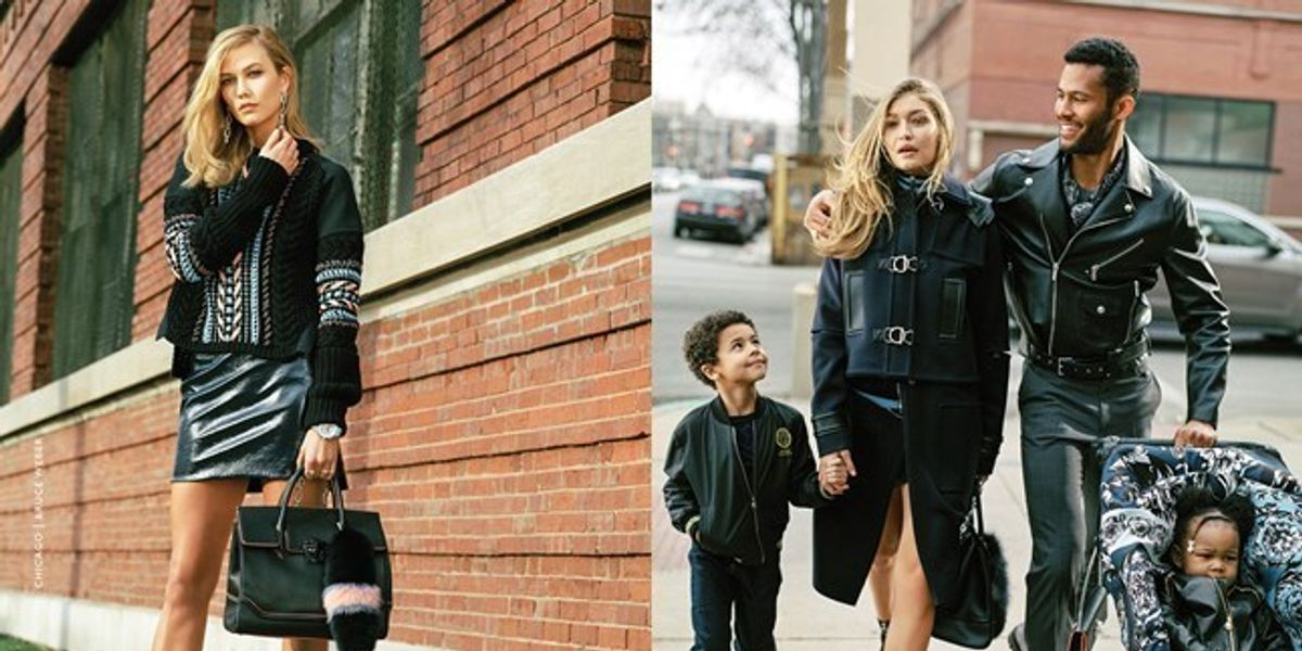 Donatella Versace Defends Controversial Power Mom Campaign