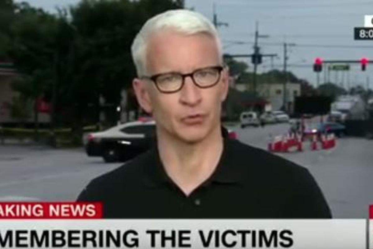 Watch Anderson Cooper Read The Names of the Orlando Victims