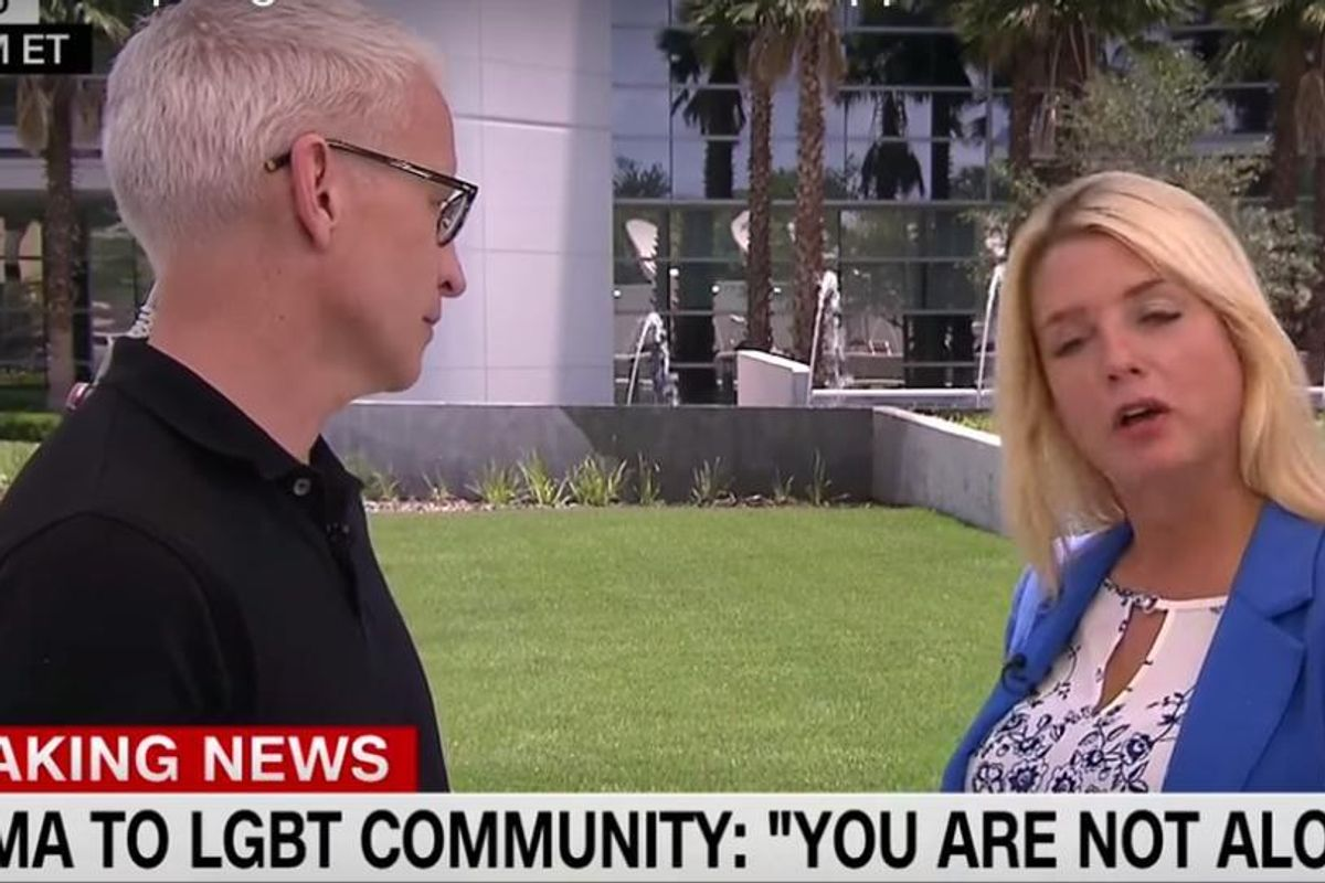 Anderson Confronts Florida Attorney General Pam Bondi For Her Hypocrisy Regarding LGBT Issues