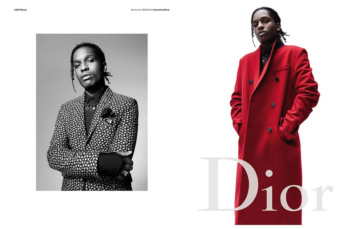 A$AP Rocky Is the New Face of Dior's FW16 Campaign