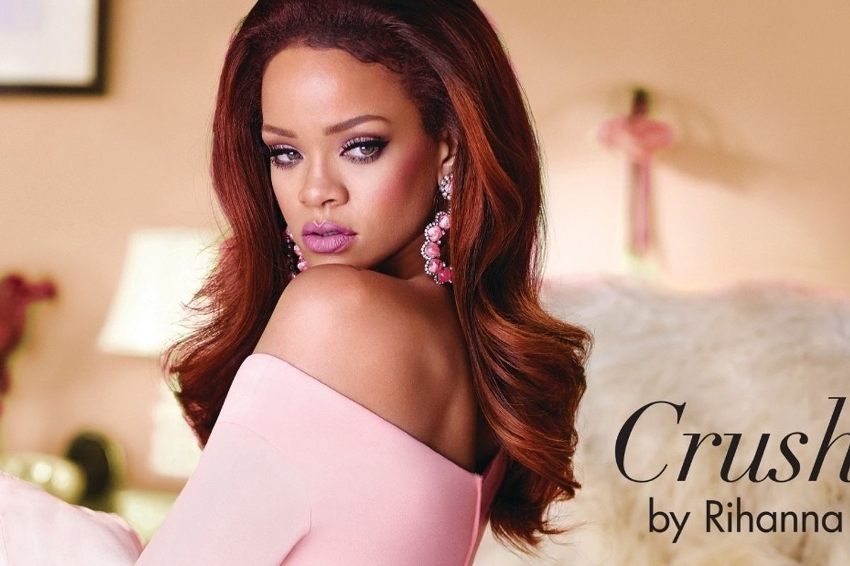 "Rihanna Releases New Fragrance ""Crush"""