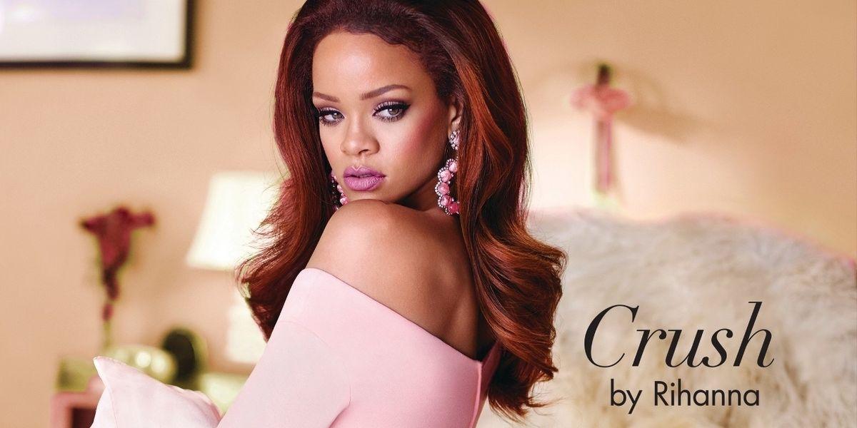 "Rihanna Releases New Fragrance ""Crush"""