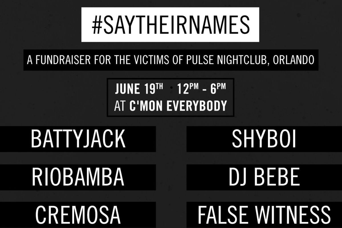 Join NYC's QTPOC Artists At A Fundraiser For The Families Of The Pulse Victims This Sunday