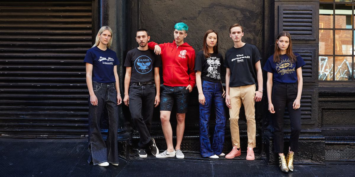 Opening Ceremony Releases New Apparel Line With 5 Iconic NYC LGBT Bars For Pride