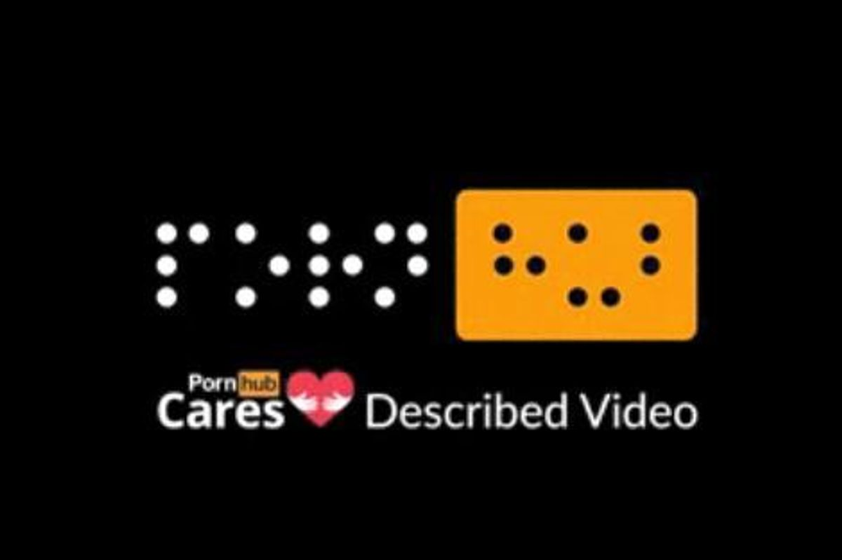 Pornhub Launches Porn Catered to the Visually Impaired