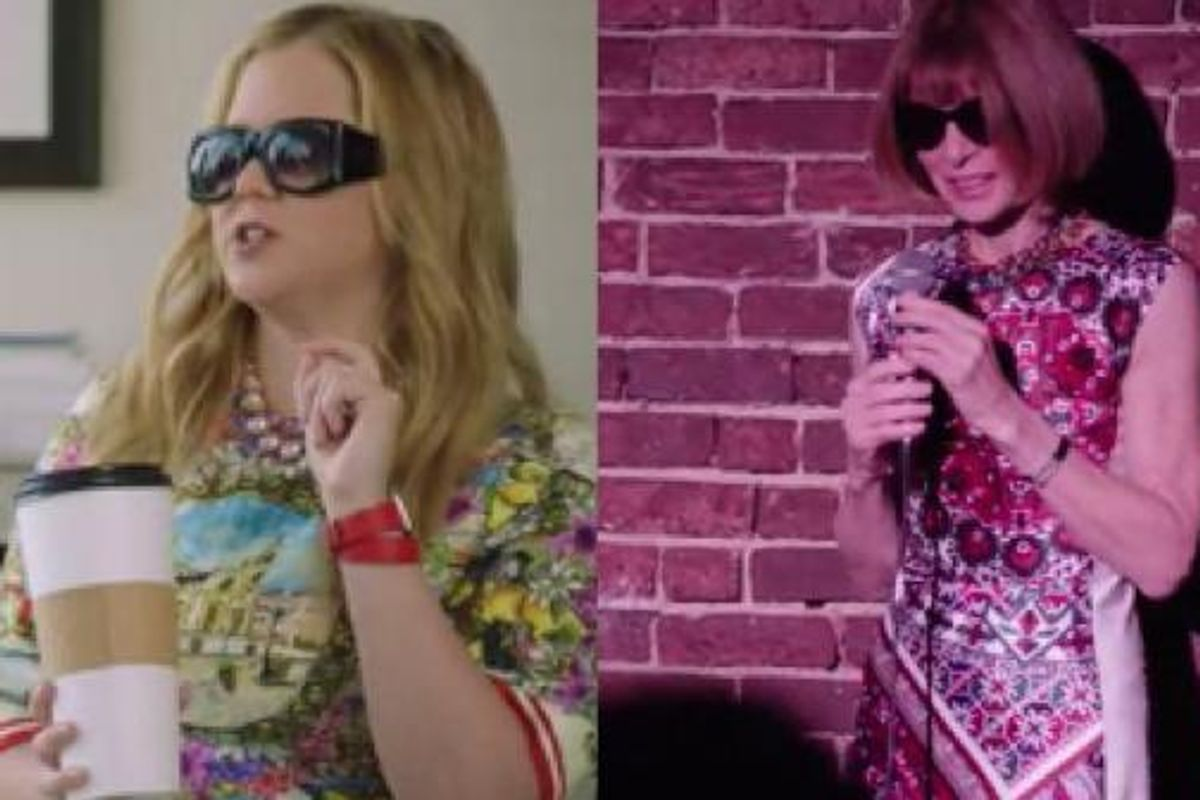 Watch Vogue's JulyCover Star Amy Schumer And Anna Wintour Swap Lives For A Day