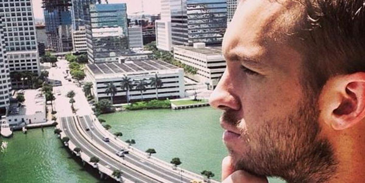 Petty Wars: Calvin Harris Wears His Yeezys Out