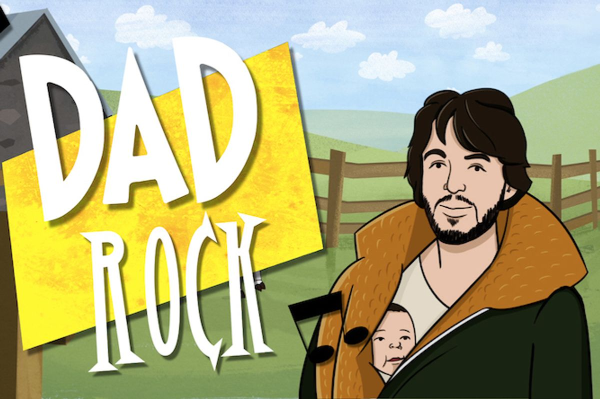 Celebrate Father's Day With 'A Brief History Of Dad Rock'