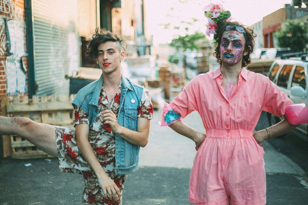 Watch Queer Rockers PWR BTTM Perform 'Somewhere Over the Rainbow' In Orlando