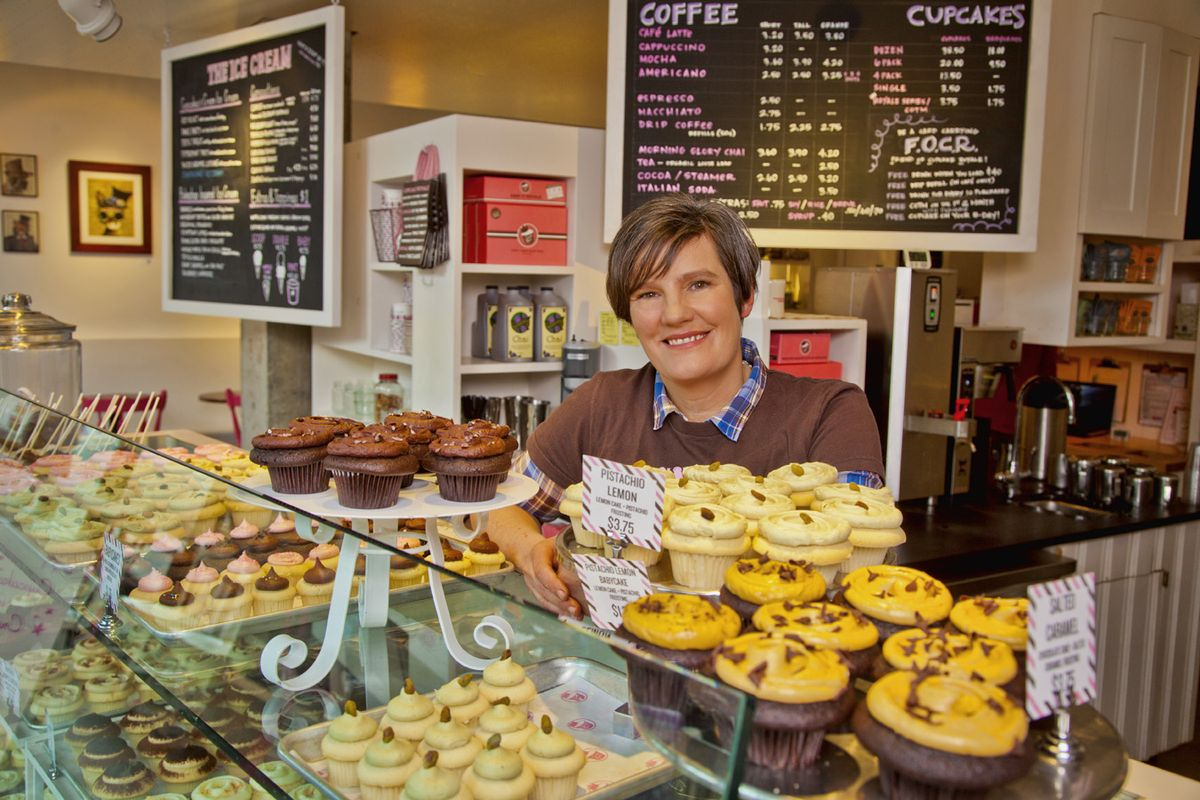 Meet Jody Hall, the Starbucks-Trained Mind Behind Seattle's Made-From-Scratch Cupcake Empire