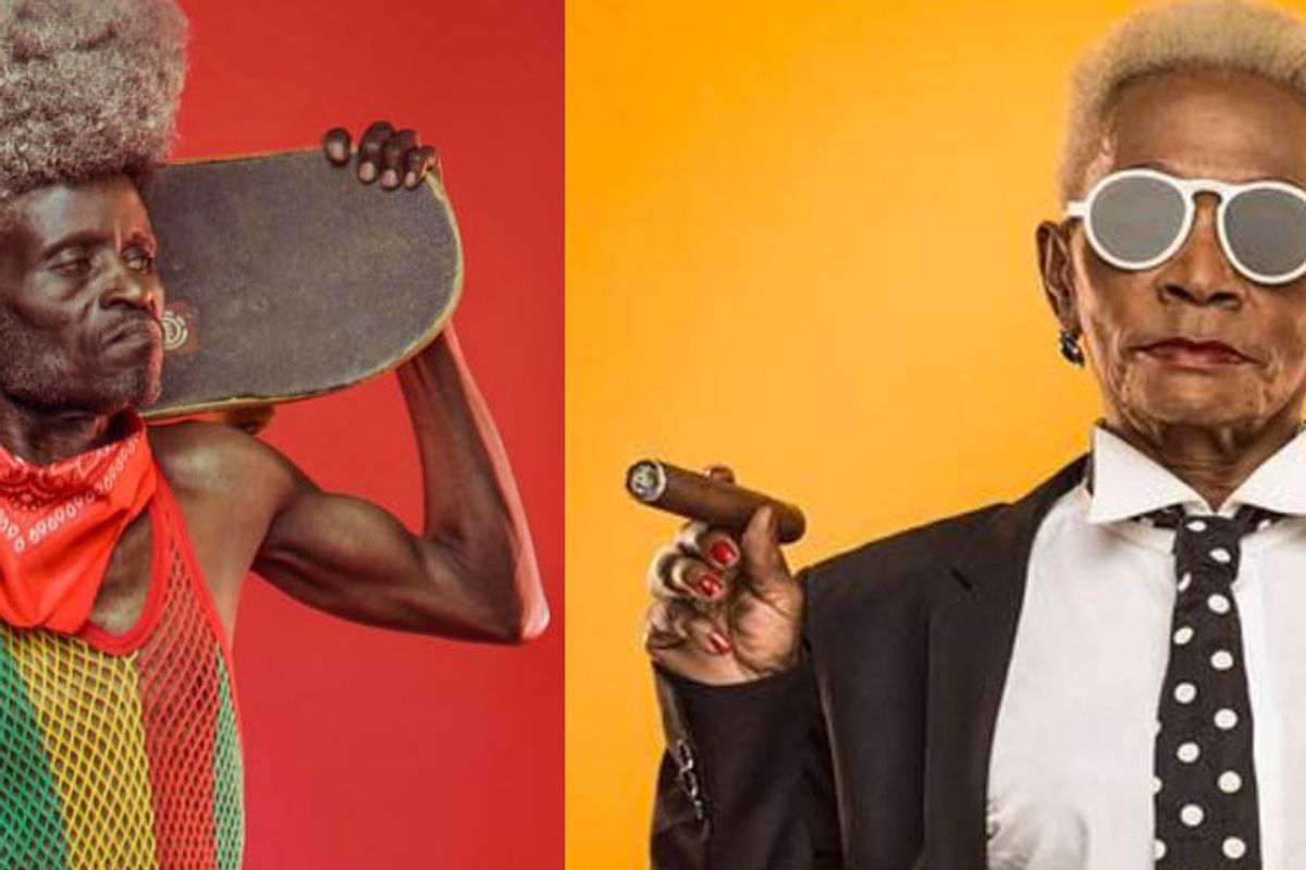 Peep Images Of Hip-Hop Grandpas, a League of Extraordinary Grannies and More From This Rising Kenyan Art Duo