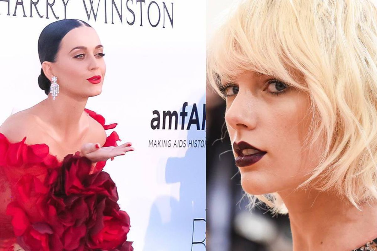 The Name of Katy Perry's New Fragrance Is Probably A Dig At Taylor Swift