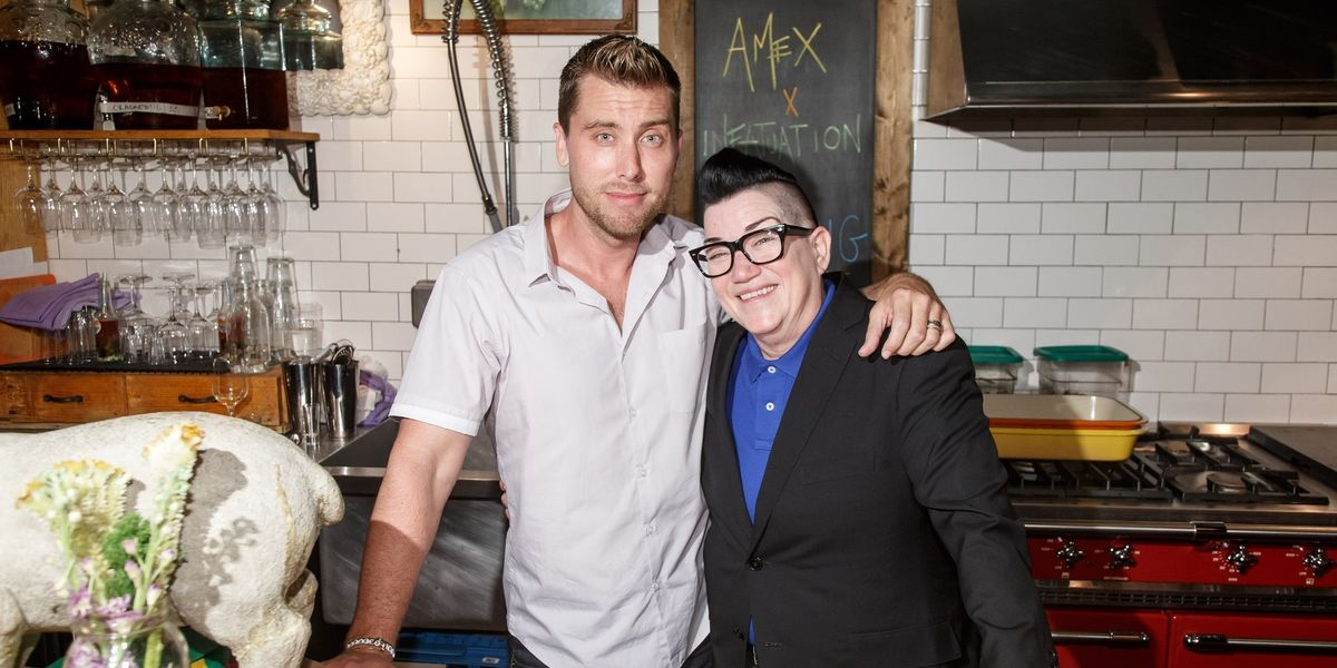 Lance Bass, Lea Delaria, and More Were All About Expressing Love at the Spotted Pig