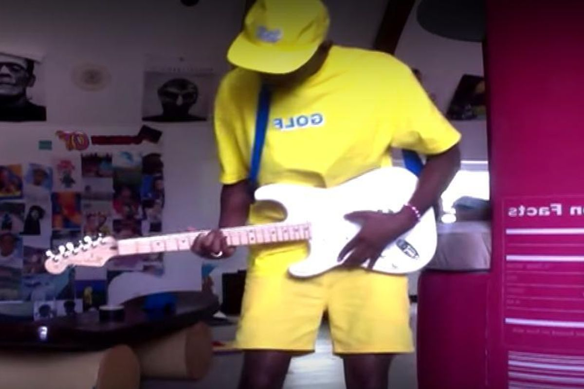"Tyler the Creator Releases Unfinished ""Pillow Talk"" Remix Set To a Hilarious Video"
