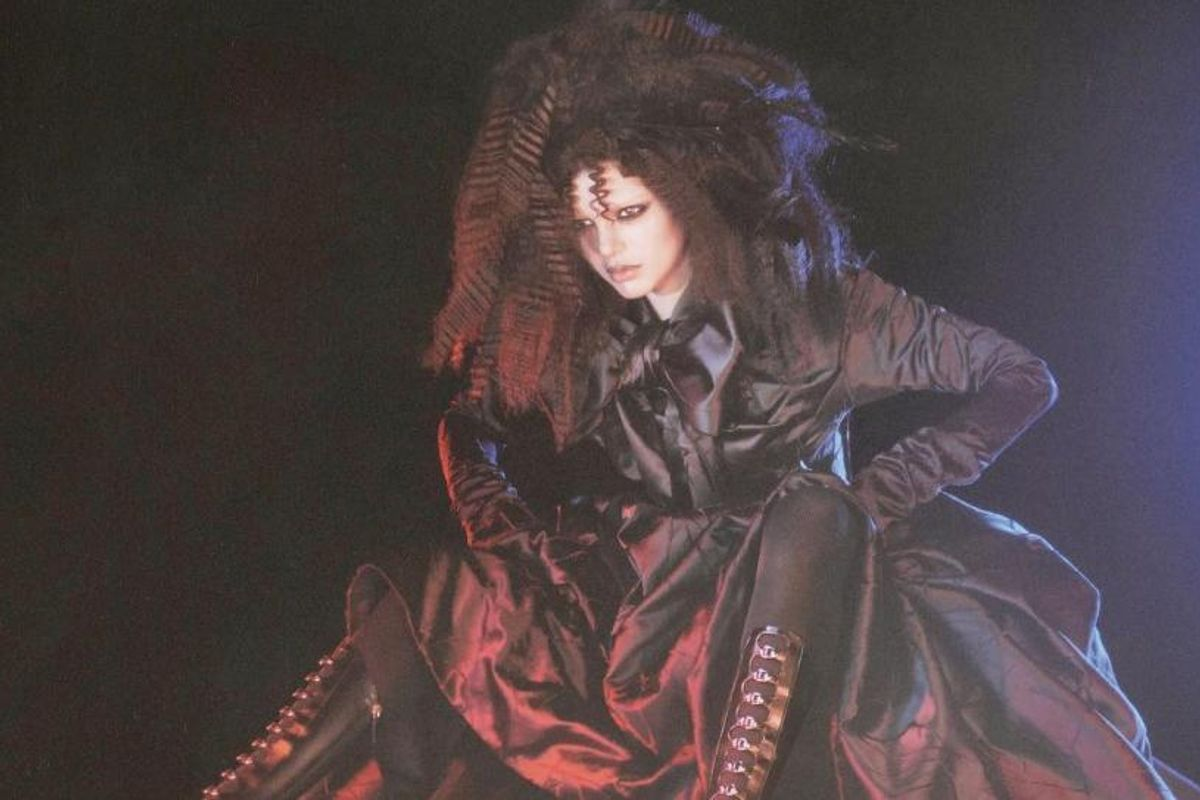 Kendall Jenner Channels Her Inner Banshee For Marc Jacobs's Fall Campaign
