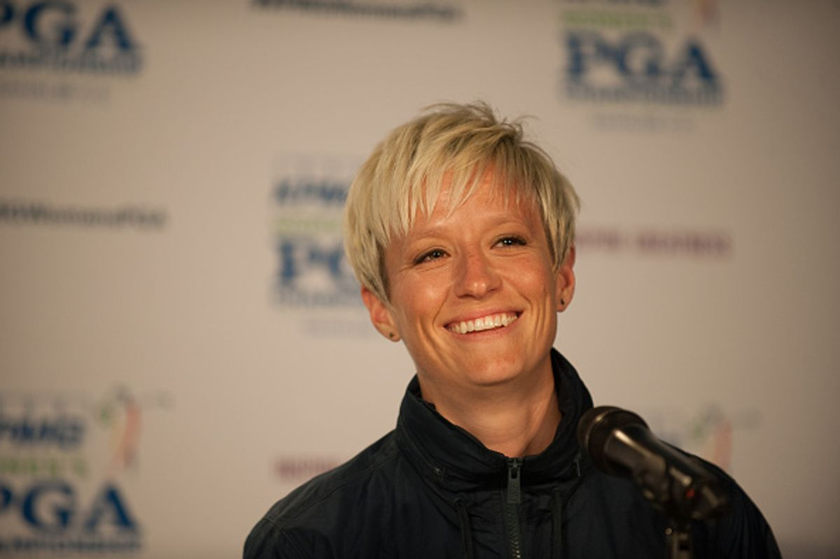 National Soccer Star Megan Rapinoe Is a Gold Medal-Worthy Advocate for the LGBTQ Community