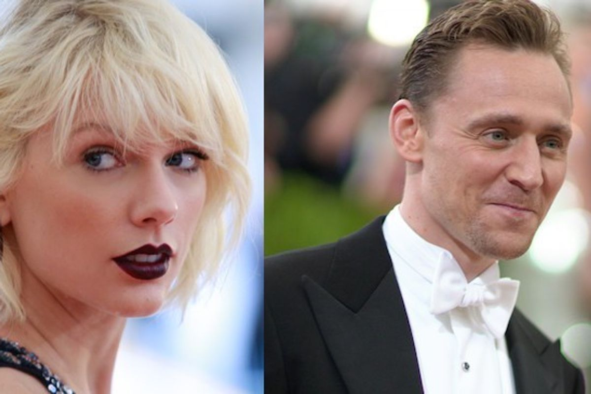 Watch Taylor Swift and Tom Hiddleston Dance At Selena Gomez's Concert