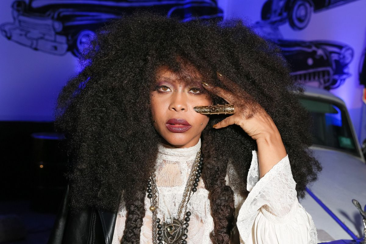Erykah Badu On Never Fearing Hate, Intentional Artwork, and the Joy of Riding a Bike