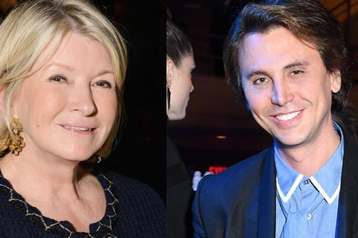 Martha Stewart Asked Twitter Who Jonathan Cheban Was