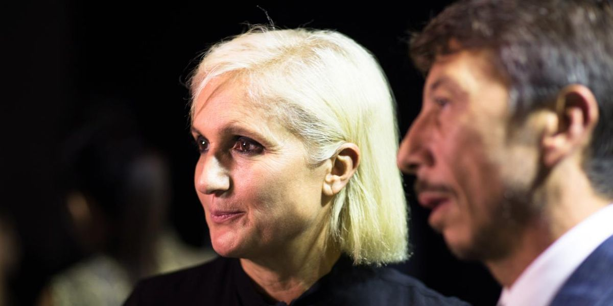 Meet Maria Grazia Chiuiri, Likely Dior's First-Ever Female Creative Director