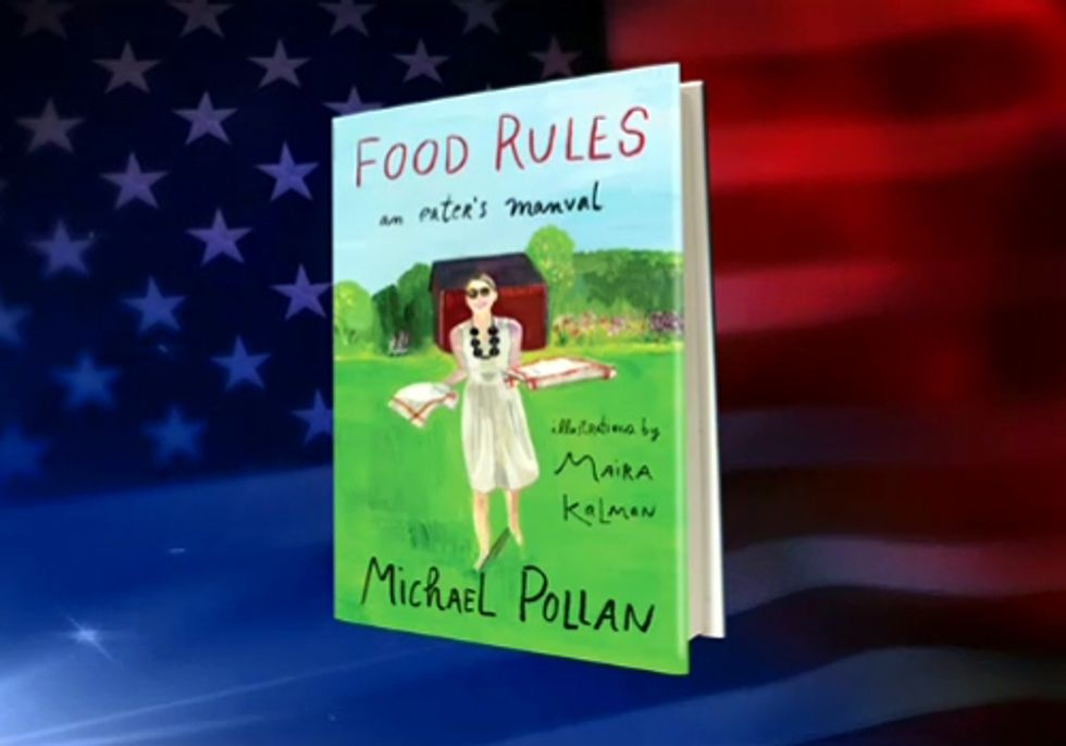 Michael Pollan's Illustrated Food Rules Now Available