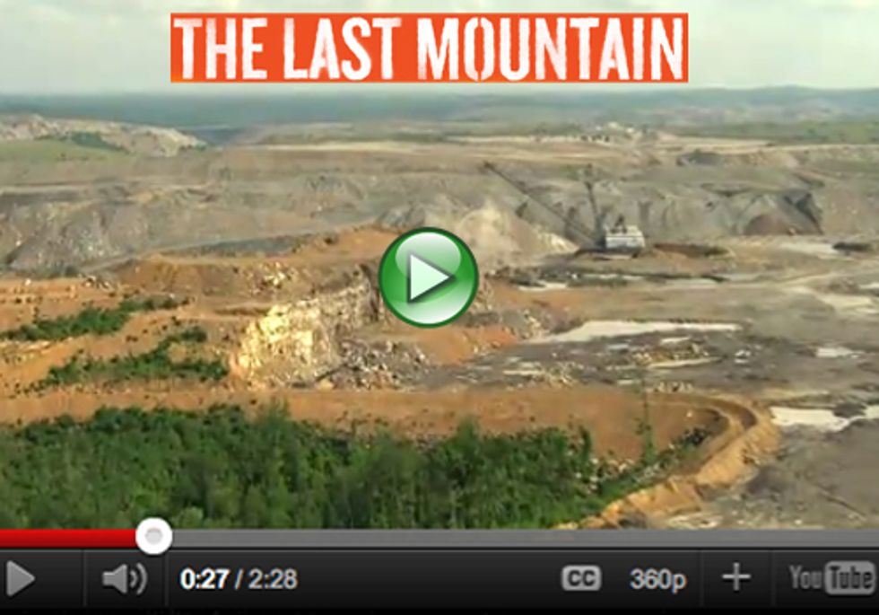 Documentary on Mountaintop Removal Coal Mining Now Available on DVD