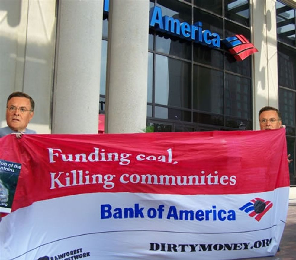 Boycott Bank that Bankrolls Mountaintop Removal Coal Mining
