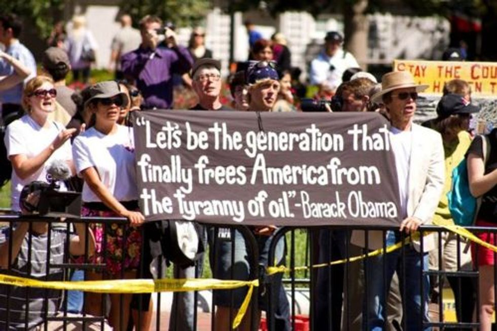 Send a Message to Obama to Stop the Keystone XL Pipeline