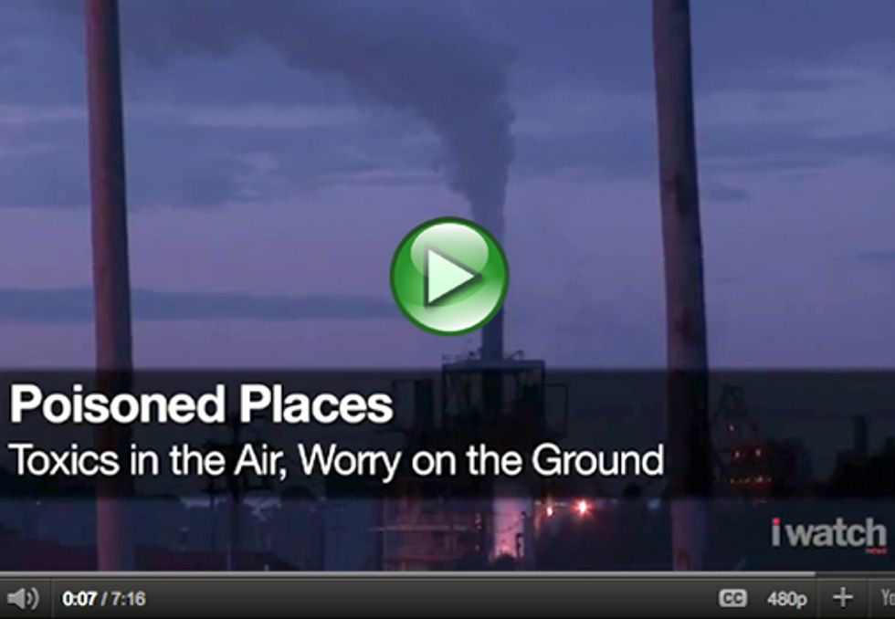 Center for Public Integrity Investigates Poisoned Places