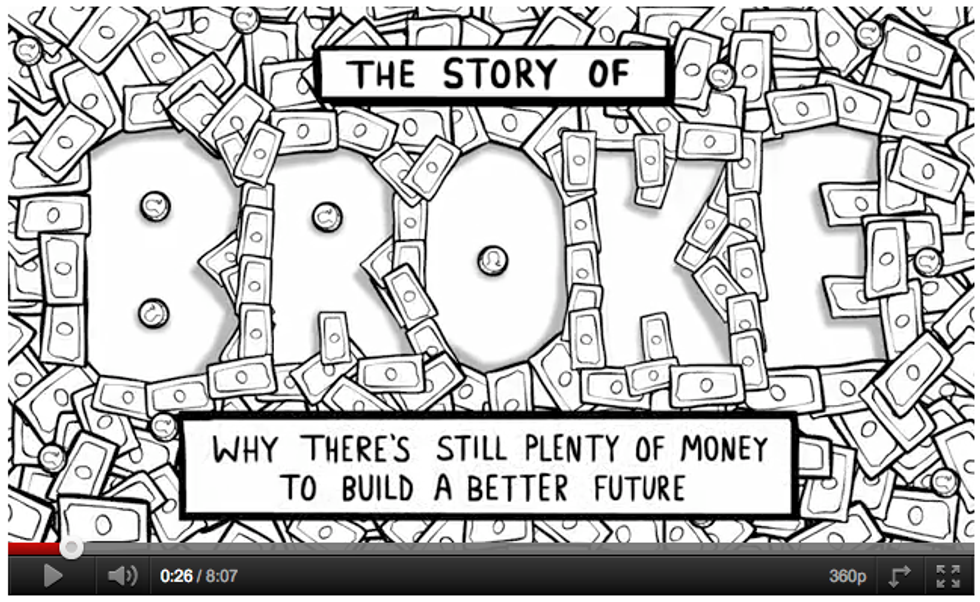 The Story of Broke Helps Build a Better Future