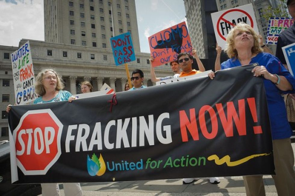 New York Voters Reject Fracking in Local Elections