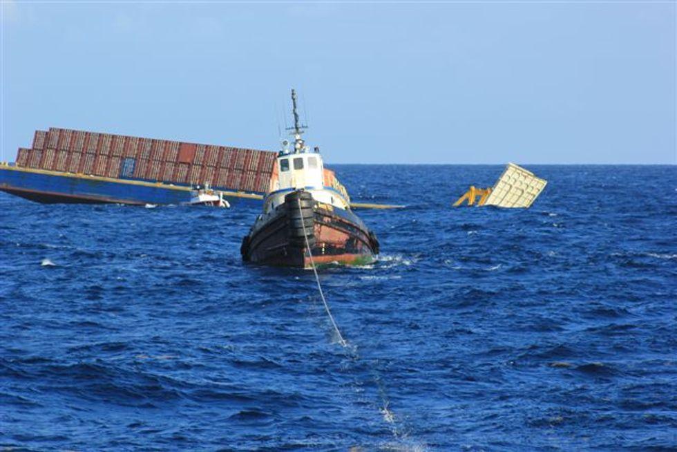 Sinking Barge Imperils Florida Deep Sea Coral