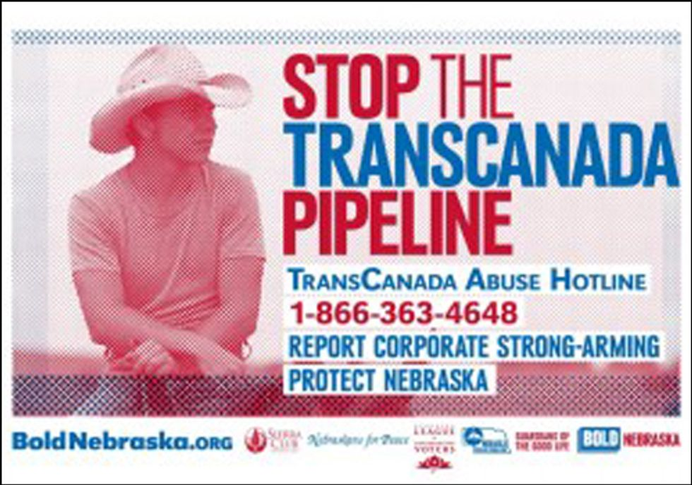 Citizens Rally at Nebraska Capitol to Oppose Keystone XL Pipeline