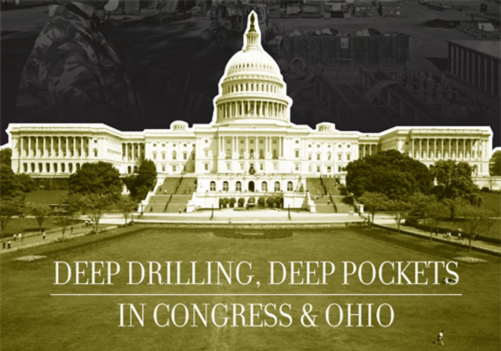Natural Gas Industry Pumps Cash into Congress