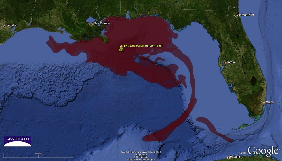 Web Tool Allows Public Tracking of Oil Spills