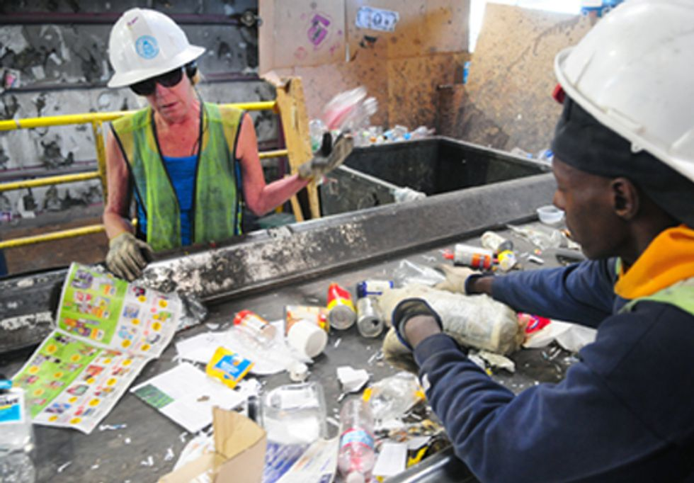 More Jobs, Less Pollution Report Shows Benefits of Recycling