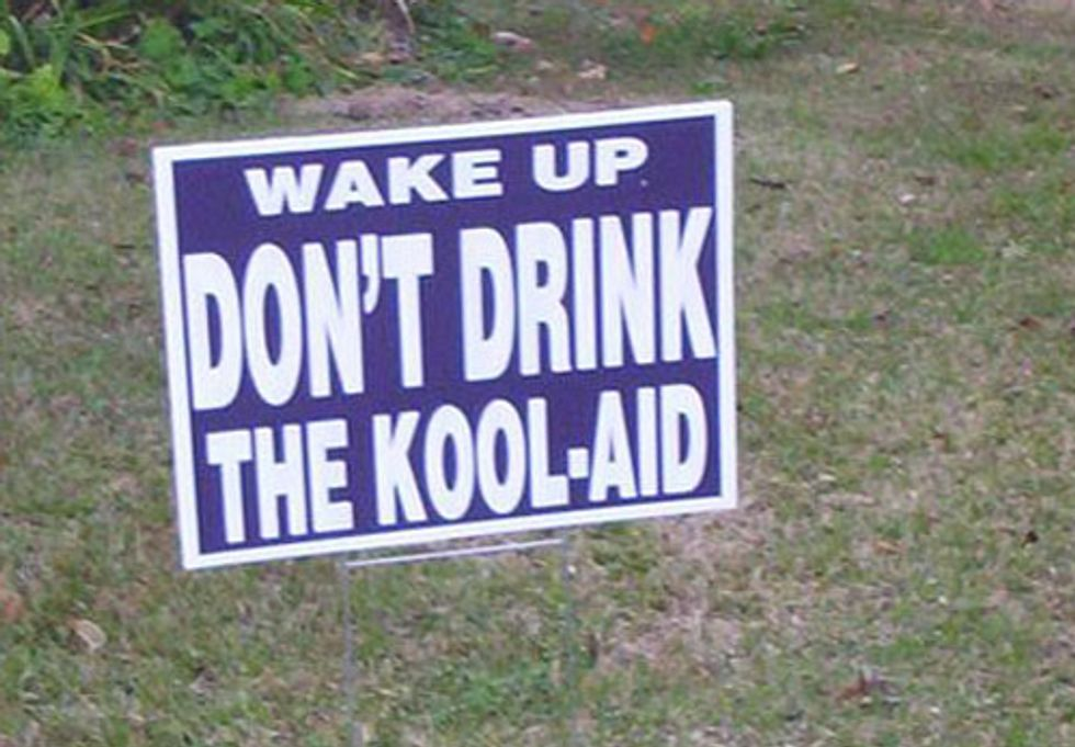 Citizens Criticize Leaders for Drinking TransCanada's Kool-Aid