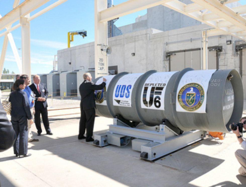 Uranium Barter Revealed as USEC Bailout Scam