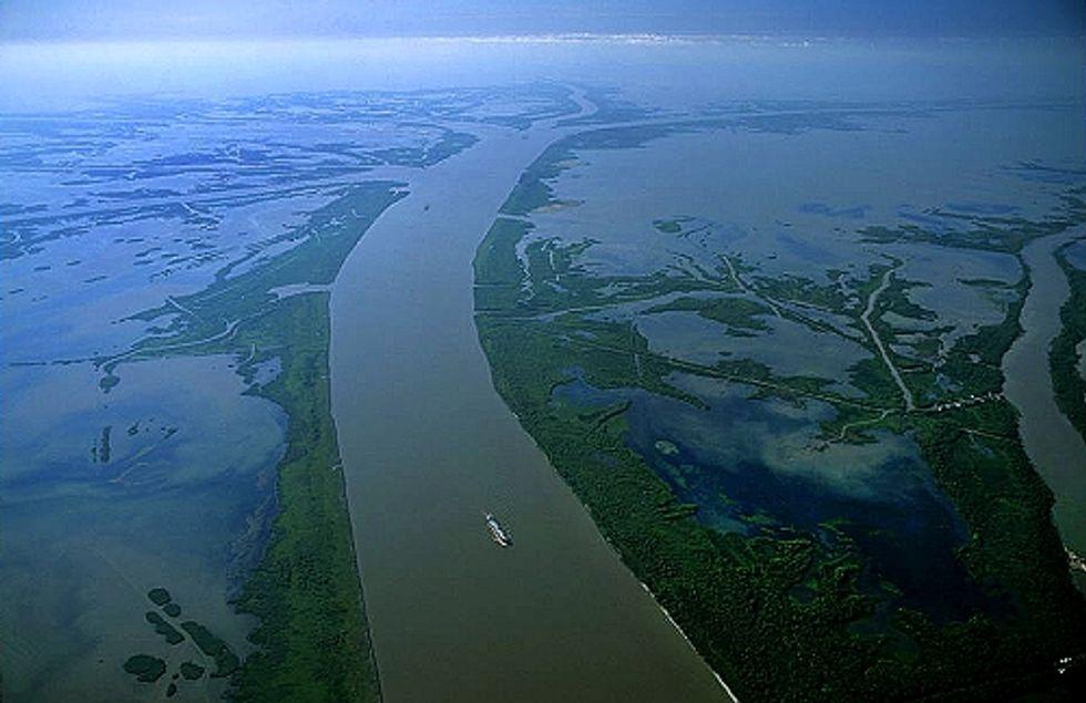 New Website Focuses on Mississippi River Delta Restoration