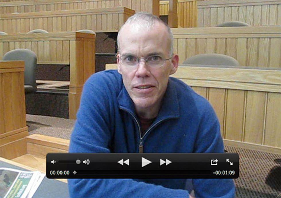 Bill McKibben Speaks at Oberlin College