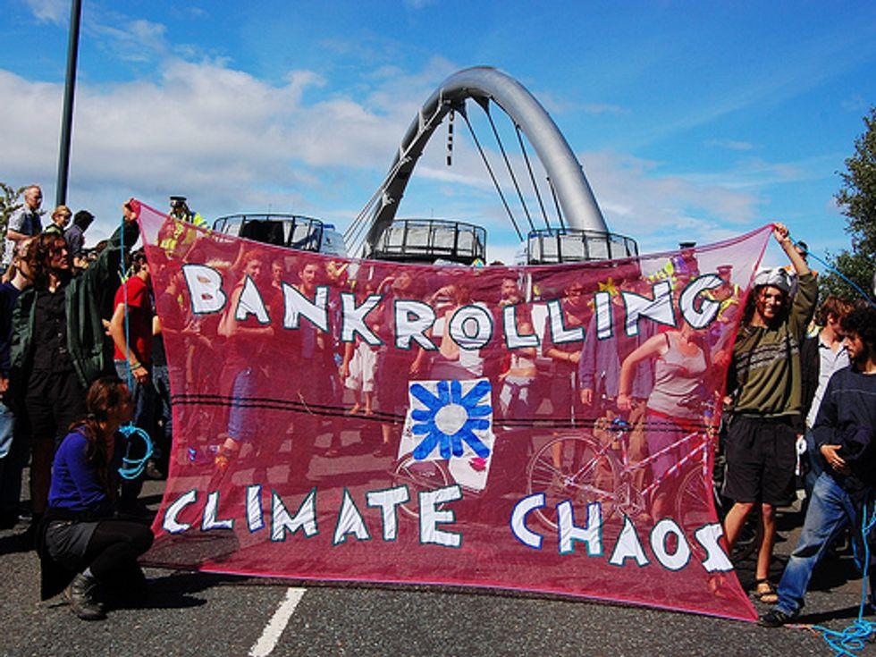 Study Ranks Top 20 Climate Killer Banks
