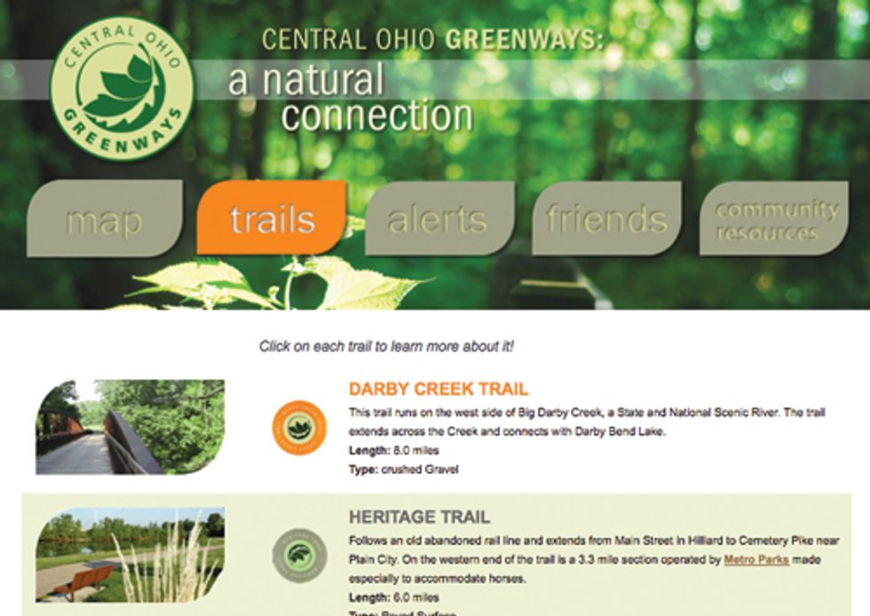 MORPC's Greenways Website