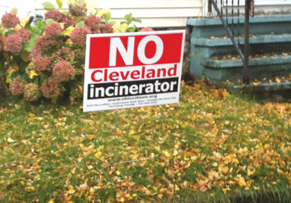 Campaign Launched against Proposed Garbage Incinerator