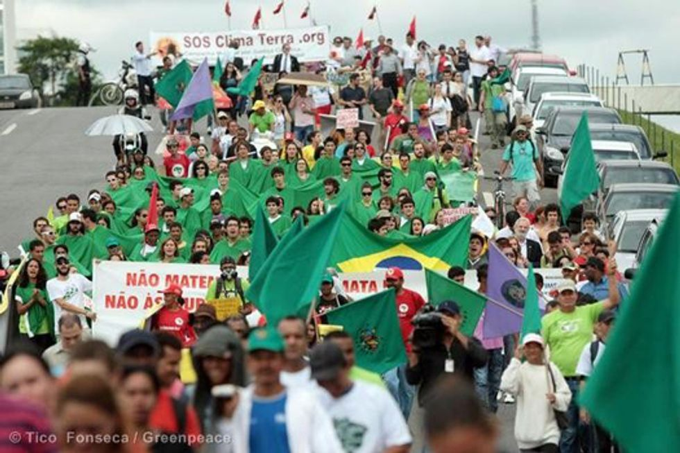 People of Brazil Say No to Forest Law Changes
