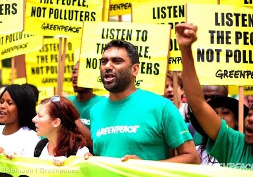 Thousands March in Durban Calling for 'Climate Justice'