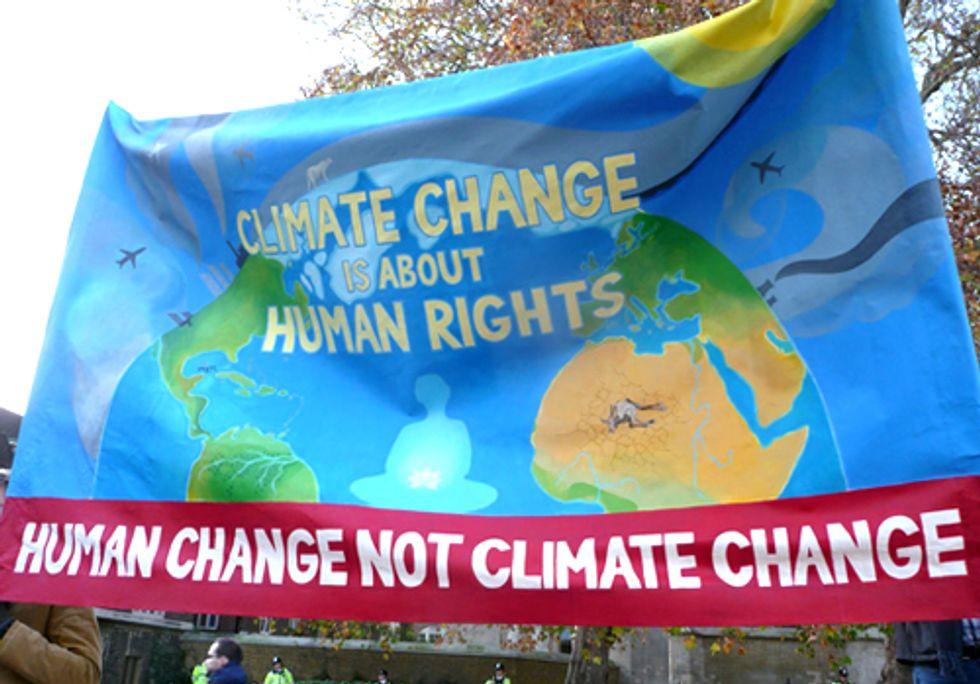 COP17 Succumbs to Climate Apartheid