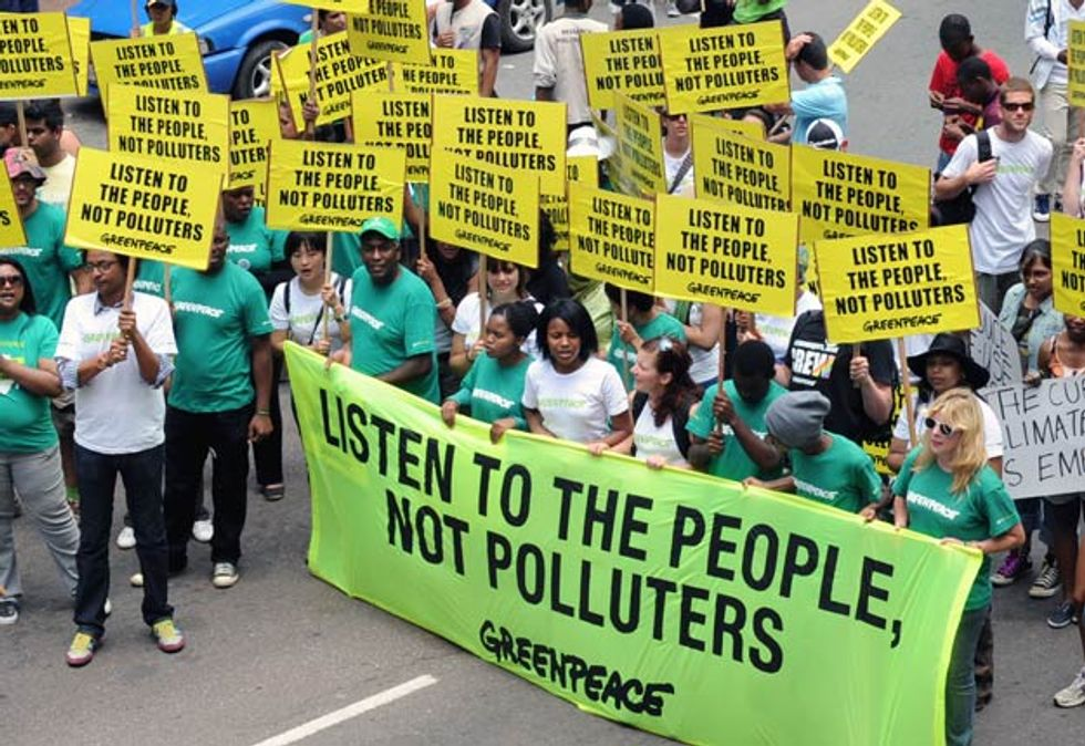 Polluters Win and People Lose at Climate Talks